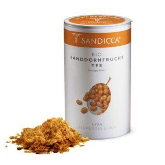 Bio Sanddorn Fruchttee Detox aus Österreich mit Bio Sanddornbeeren