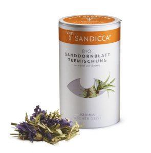 Bio Sanddorn Teemischung Detox aus Österreich mit Sanddornblatt, Ingwer und Ginseng